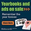 Yearbooks and ad on sale