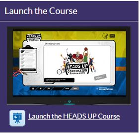 HEADS UP Concussion Course Video